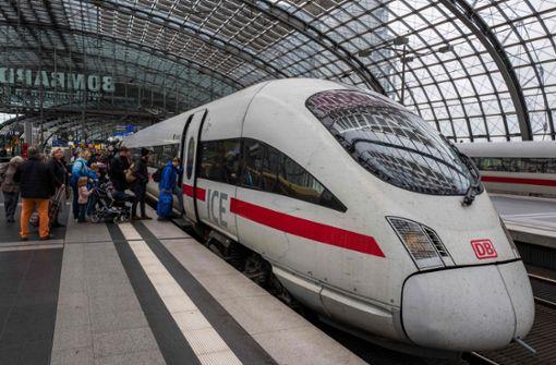 """Züge sollen durch """"Deutschland-Takt"""" schneller und pünktlicher werden"""
