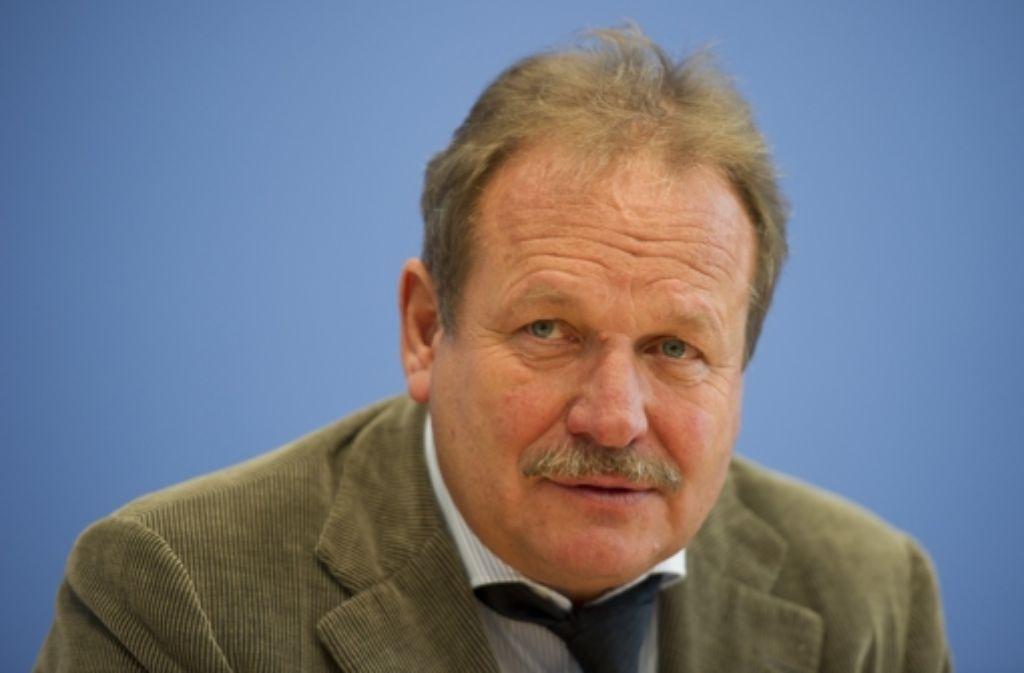 Immer noch angriffslustig: Verdi-Chef Bsirske will weitermachen. Foto: dpa