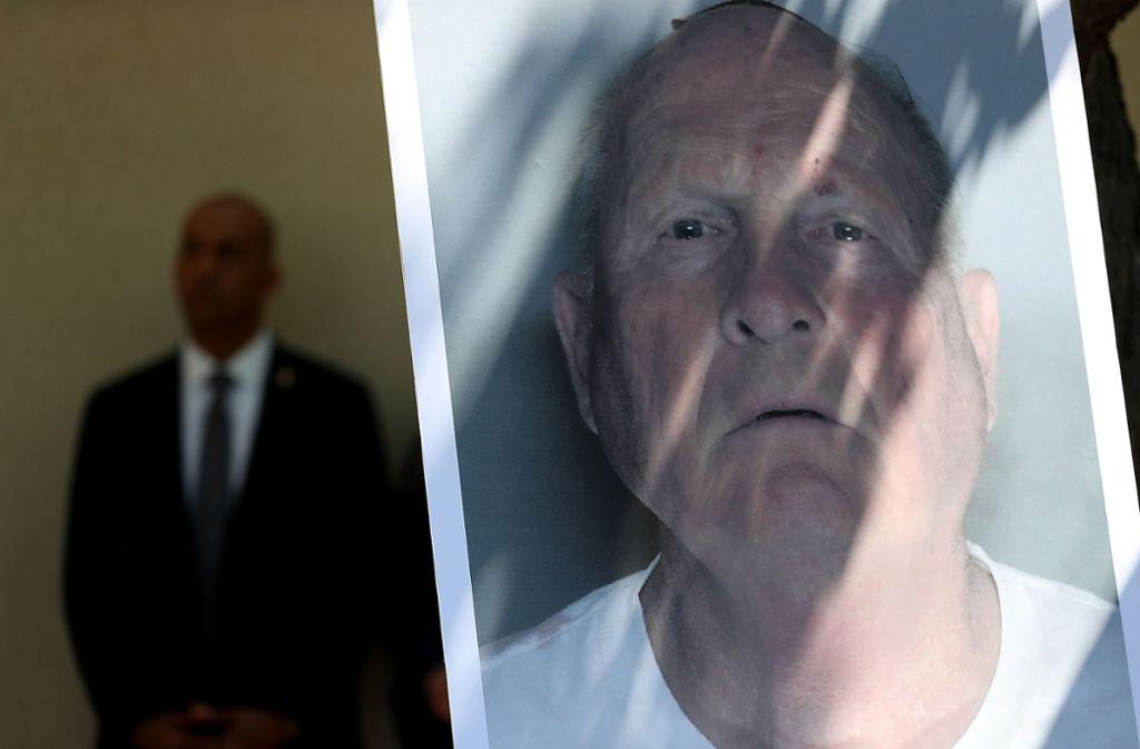 """Der mutmaßliche """"Golden State Killer"""", der heute 72-jährige  Joseph James DeAngelo, soll in den 1970er Jahren als Polizist gearbeitet haben. Foto: AFP"""