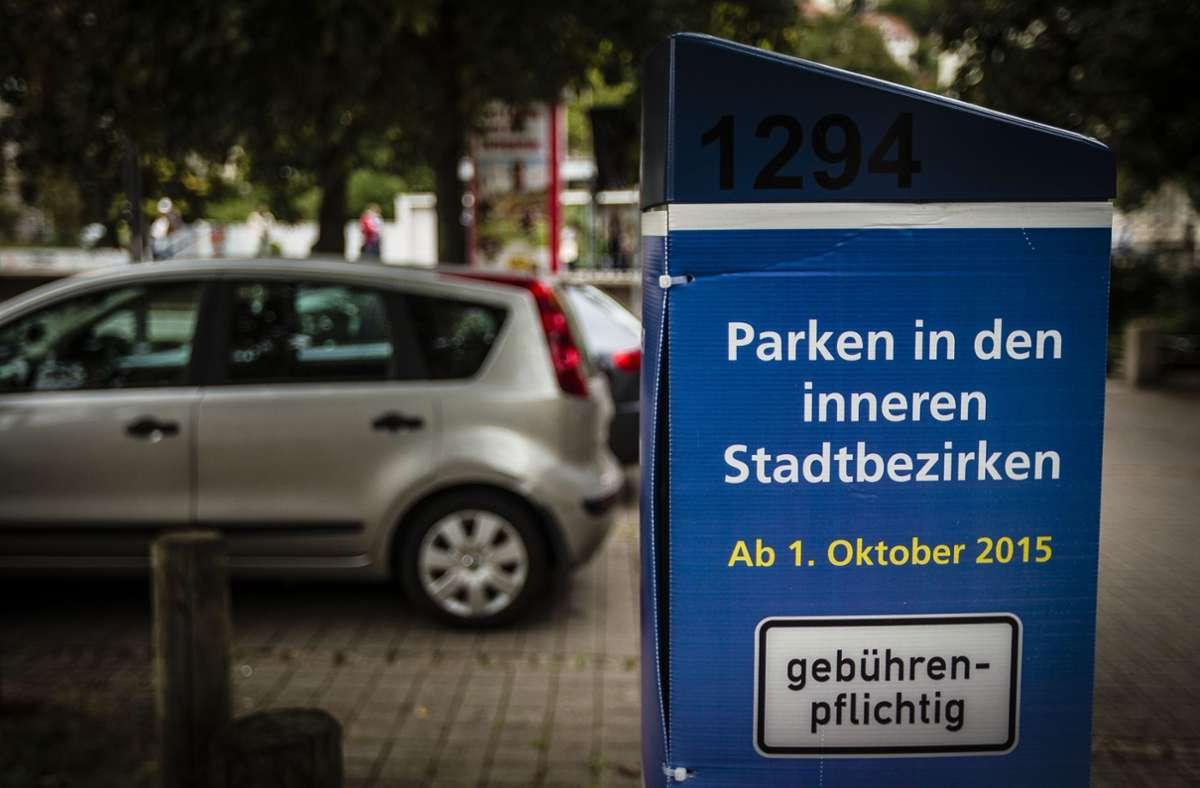 In der Stuttgarter Innenstadt gibt es das Parkraummanagement schon länger. Foto: Archiv/ Lichtgut/Leif Piechowski