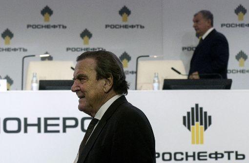 Gerhard Schröder in Rosneft-Aufsichtsrat gewählt