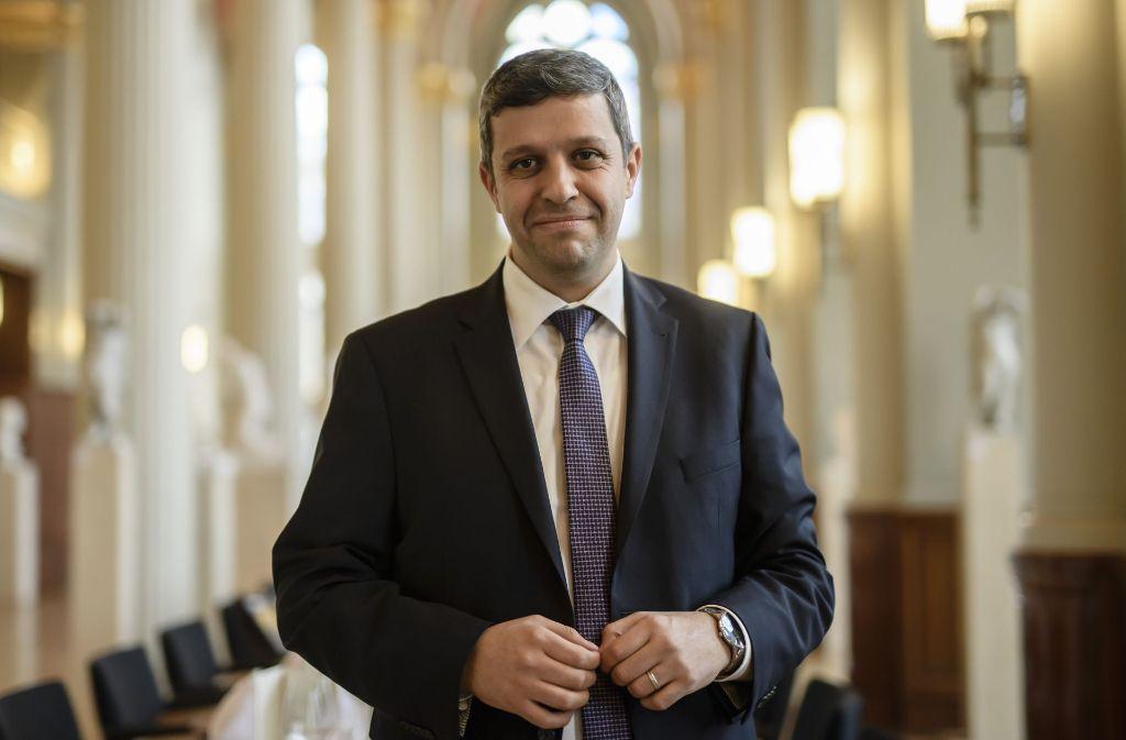 Berlins SPD-Fraktionschef Raed Saleh Foto: Rex Features