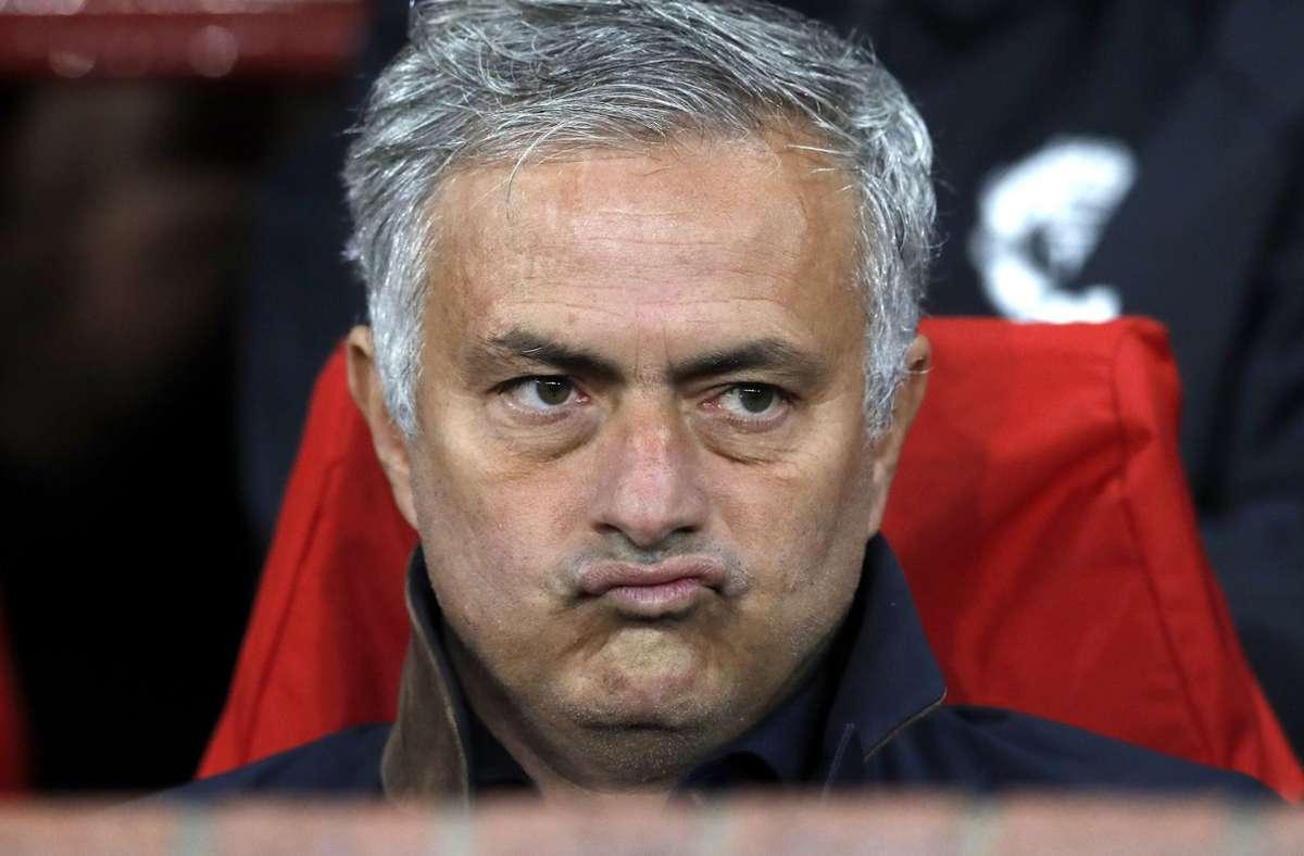 Wird neuer Trainer von AS Rom: José Mourinho. Foto: dpa/Martin Rickett