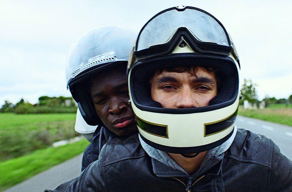 """Fionn Whitehead (vorne) und Stéphane Bak in """"Roads"""" Foto: Studiocanal GmbH"""