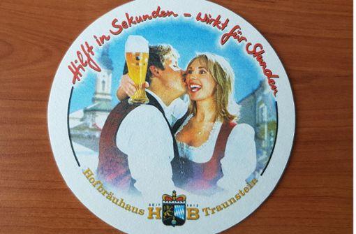 Bussi und Bier als Aufforderung zu Alkoholkonsum?