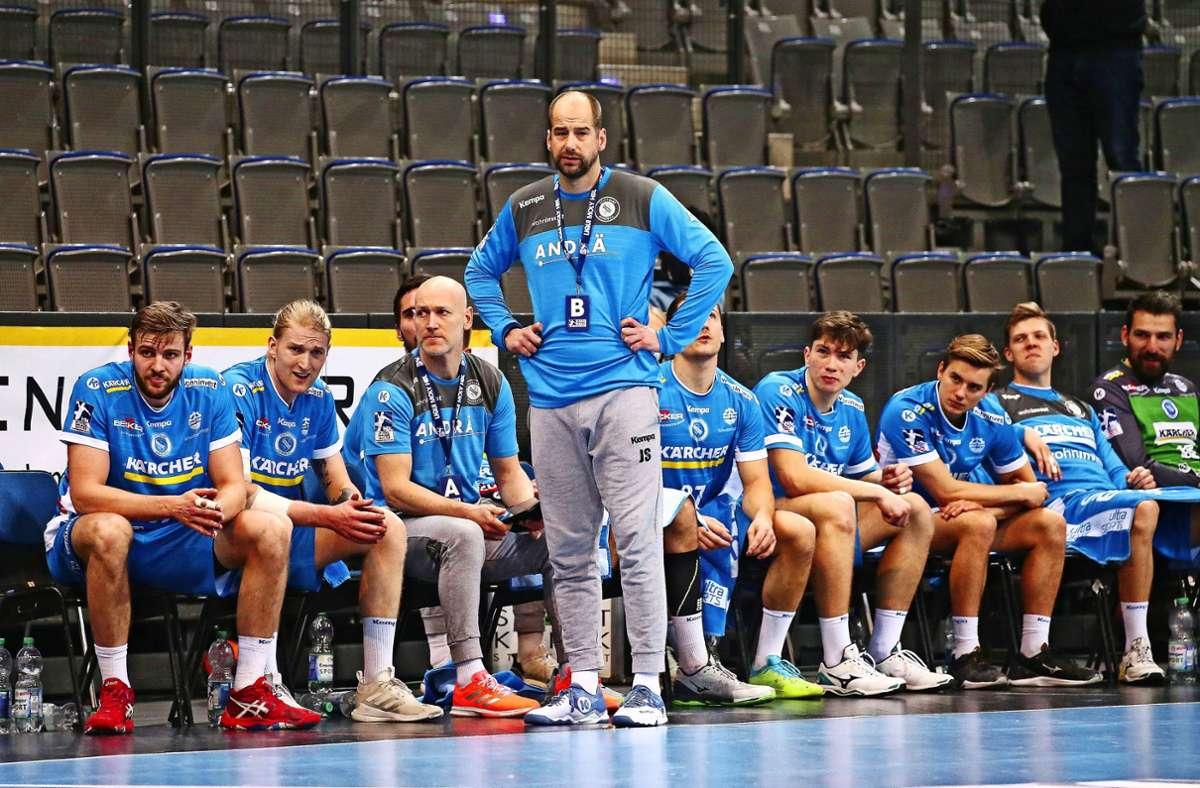 TVB-Coach Jürgen Schweikardt blickt nach vorne – auf die Liga. Foto: Pressefoto Baumann