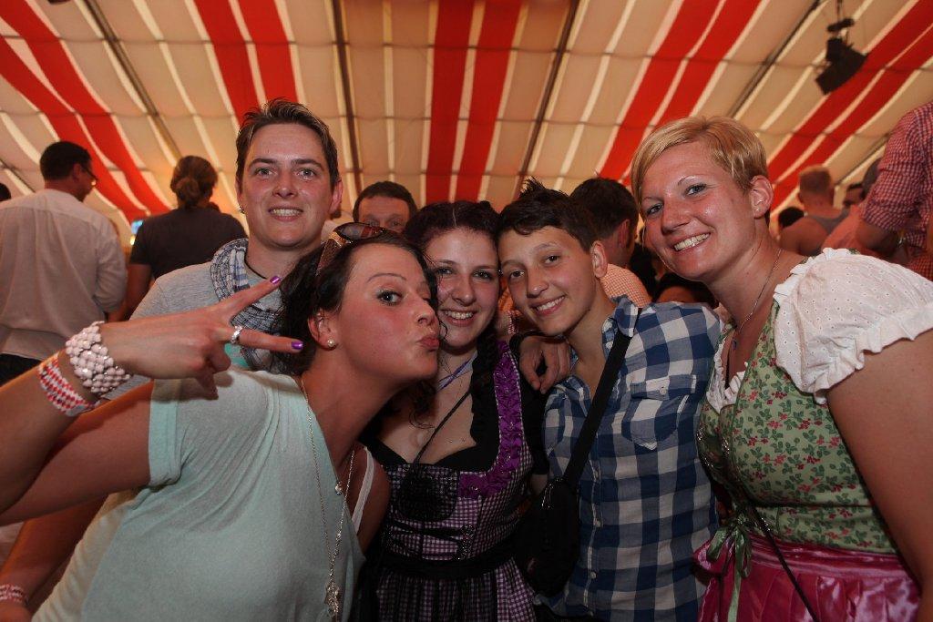 Schwule und Lesben haben am Donnerstag im Wasenwirt auf dem Stuttgarter Frühlingsfest gefeiert. Hier sind die Bilder ... Foto: www.7aktuell.de | Thomas Kaltenecker