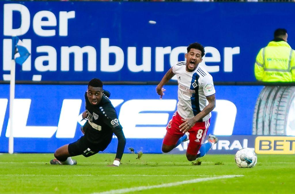 Der VfB Stuttgart hat beim Hamburger SV mit 2:6 verloren. Unsere Redaktion hat die Leistungen der Spieler wie folgt bewertet. Foto: dpa/Frank Molter