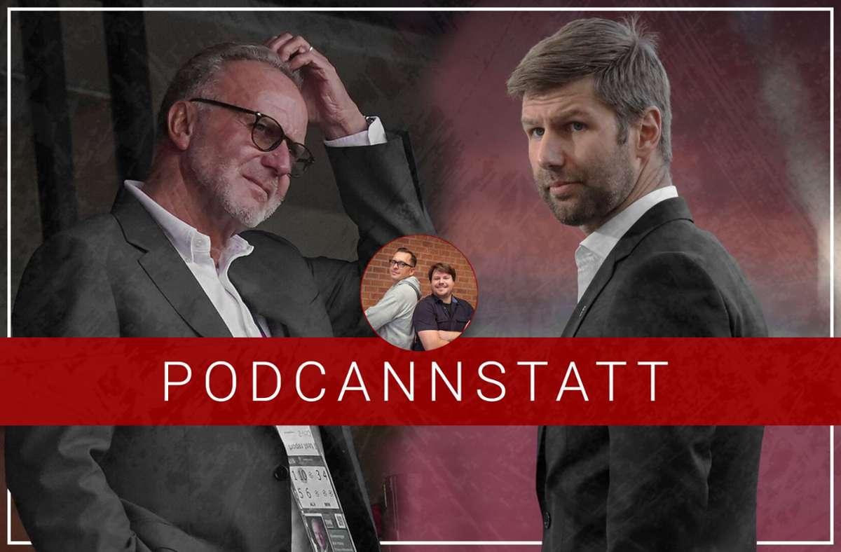 Die Debatte um die TV-Gelder steht im Fokus der aktuellen Podcast-Folge zum VfB Stuttgart. Foto: Baumann/StZN