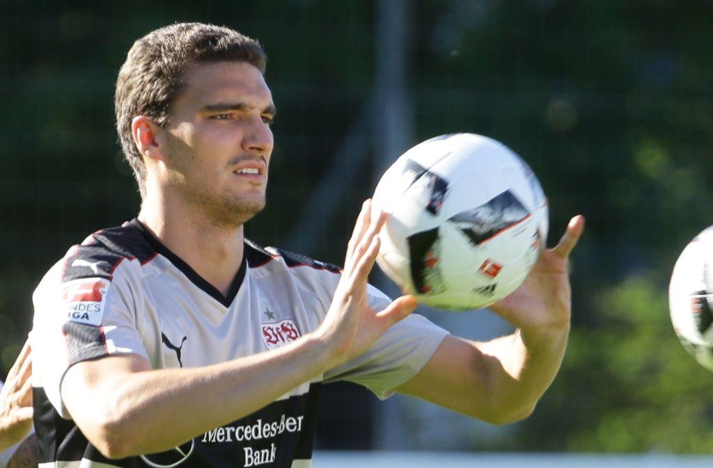 Marcin Kaminski will beim VfB Stuttgart eine Führungsrolle übernehmen. Foto: Pressefoto Baumann
