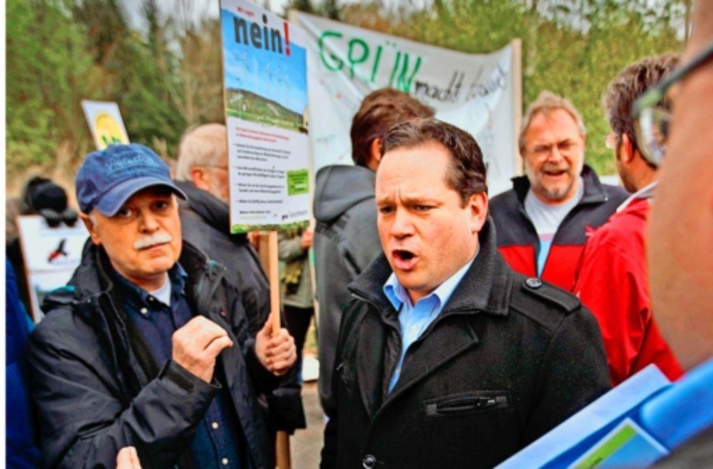 Der grüne Landwirtschaftsminister Alexander Bonde Foto: Gottfried Stoppel