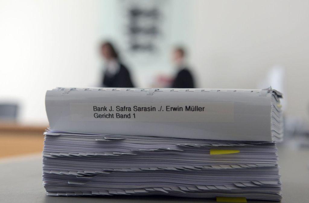 Das Oberlandesgericht (OLG) Stuttgart wies am Freitag die Berufung der Bank gegen ein Urteil des Landgerichts Ulm zurück. Foto: dpa