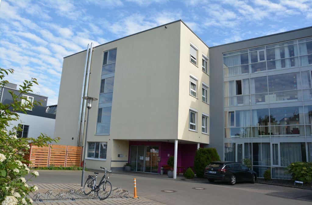 Die Alloheim-Residenz in Kornwestheim. Foto: Dominik Florian/Dominik Florian