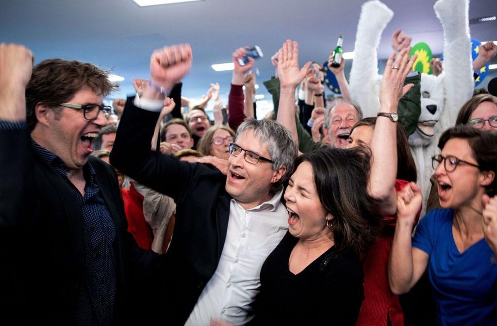 Die Grünen sind laut einer Umfrage derzeit in Deutschland oben auf. Foto: dpa