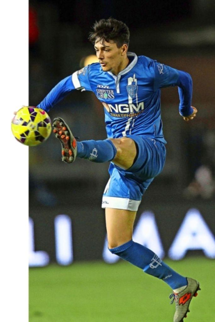 Der 22-jährige Federico Barba kommt vom italienischen Erstligisten FC Empoli Foto: Getty Images Europe
