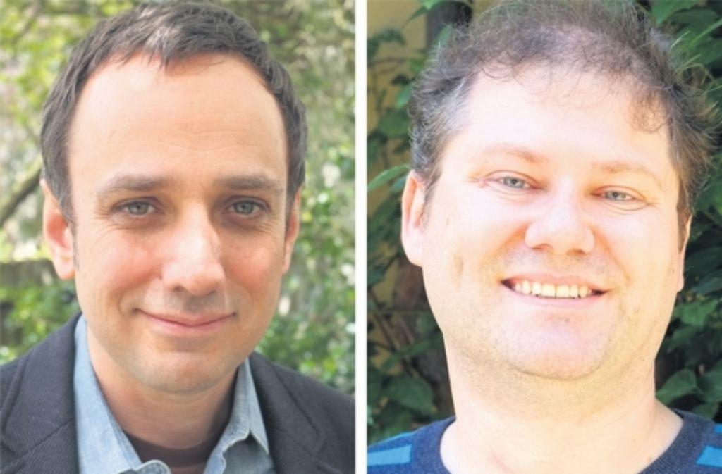Andy Deemer (links) und Tim  Pratt wissen, wie man Jugendliche mit einer toughen Story bei der Stange hält. Foto: rivat