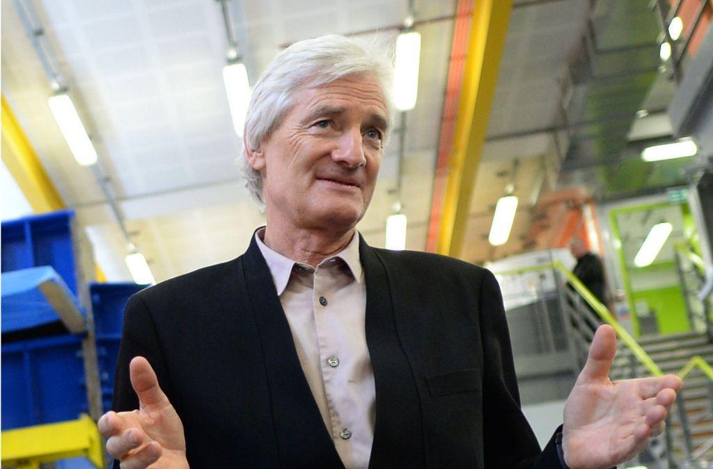 Firmengründer James Dyson will ein Elektroauto entwickeln. Foto: dpa