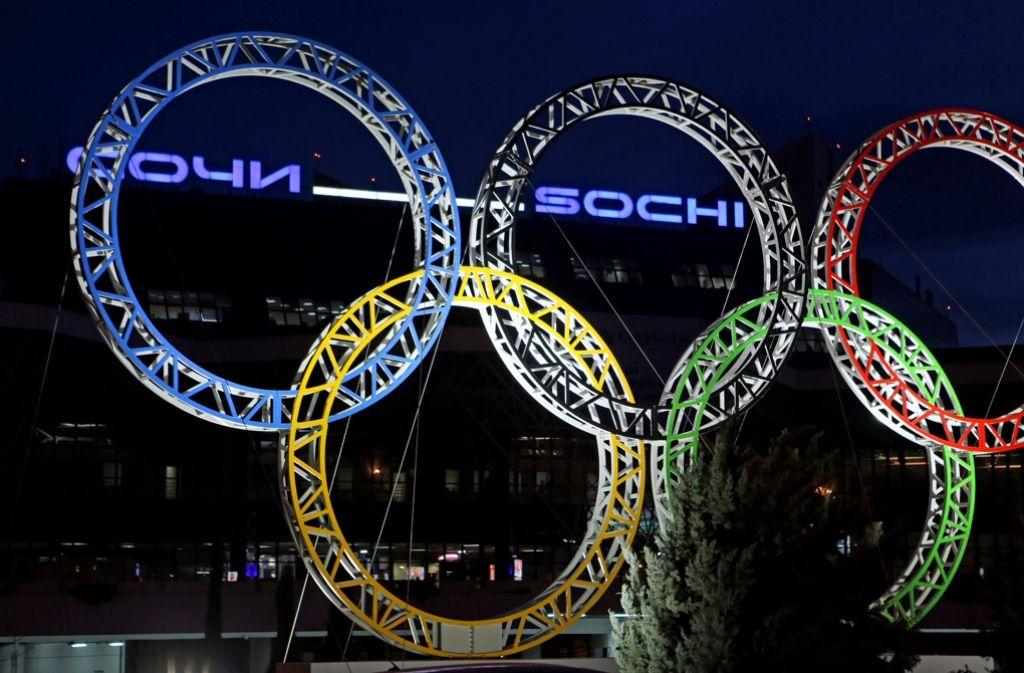 Dutzende russische Athleten sollen bei den Winterspielen in Sotschi gedopt gewesen sein. Foto: dpa