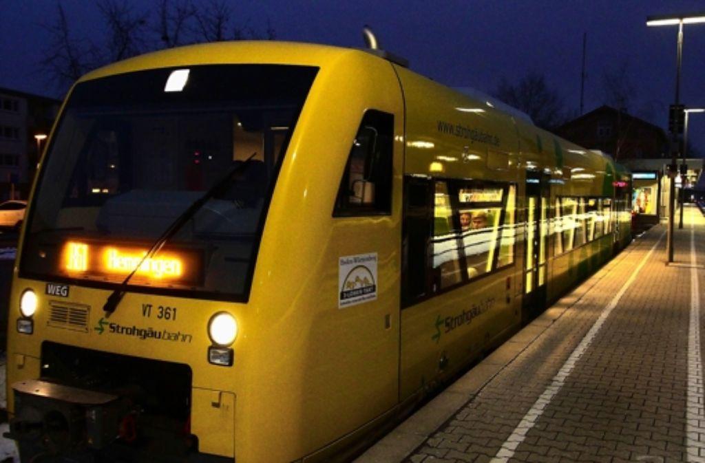 Licht an! Das ist in der Strohgäubahn nicht immer selbstverständlich. Foto: factum/Bach