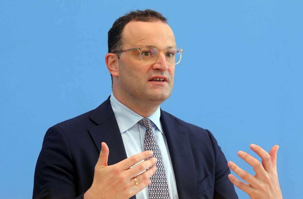 Bundesgesundheitsminister Jens Spahn Foto: dpa/Wolfgang Kumm