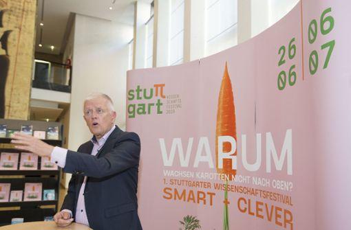 Stuttgart will als Wissenschaftsstadt Profil zeigen