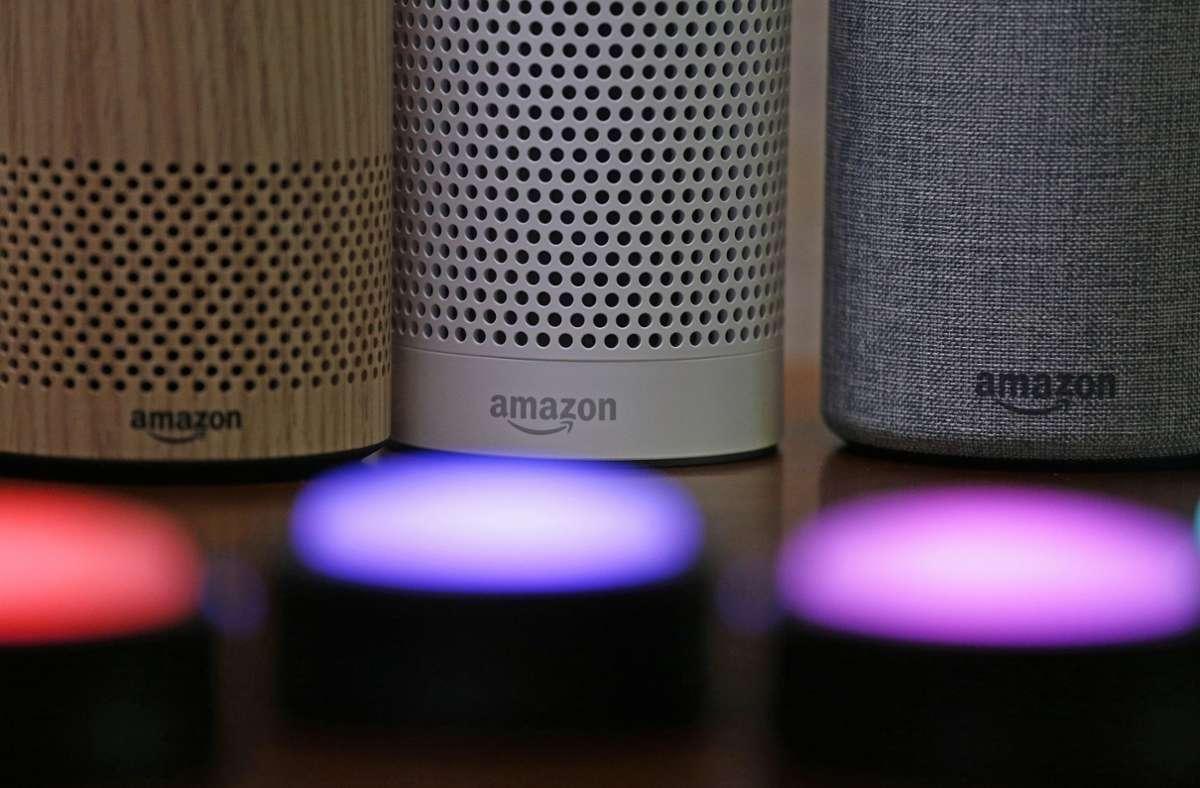 Amazons Sprachassistent Alexa war offenbar nicht gut gegen Hacker geschützt. Foto: AP/Elaine Thompson