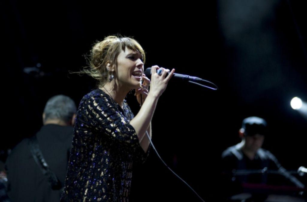 Die Sängerin, die zum Phänomen geworden ist: Zaz. Foto: Reiner Pfisterer