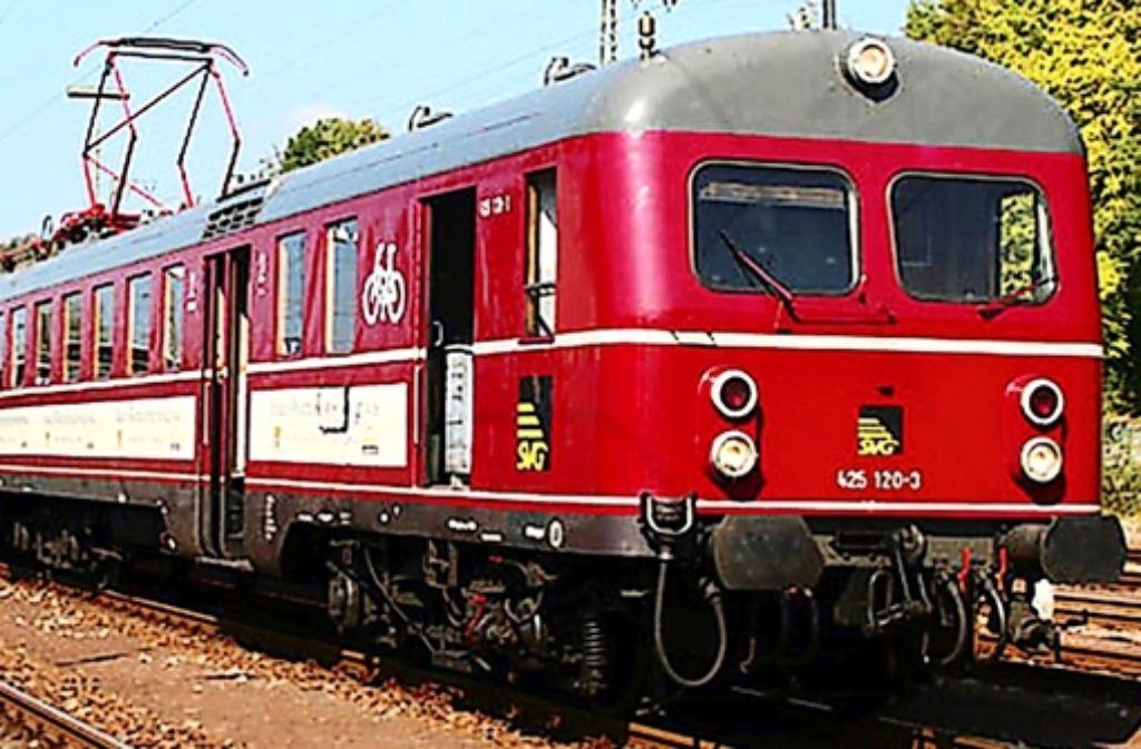 Der ET 25 verkehrt auf der Strecke mit dem Namen  Stuttgarter Stern. Foto: Markus O. Robold