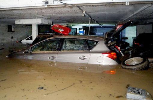 Gewitter treffen Landkreise um Stuttgart besonders hart