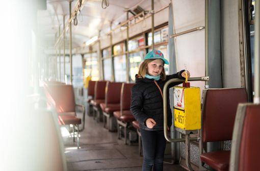 70 Mütter zieht es ins Museum für Straßenbahnen