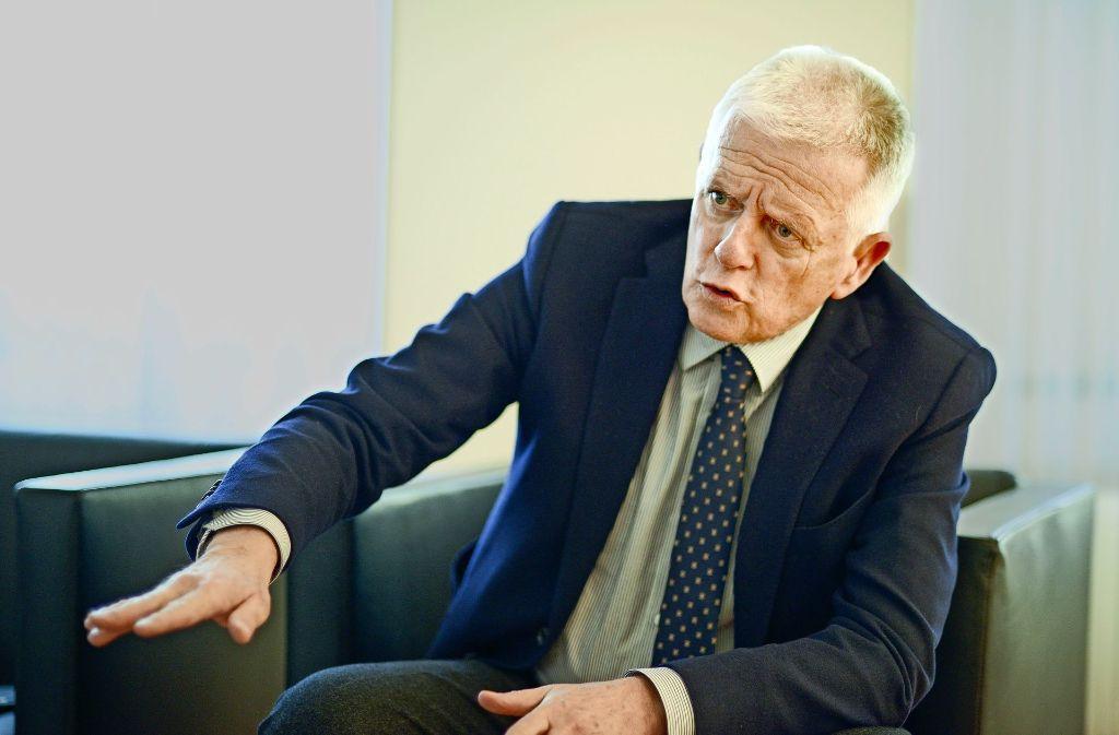 Laut OB Fritz Kuhn müssen er und andere Oberbürgermeister   Probleme ausbaden, die      die Autoindustrie, der Bund und die EU den Städten beschert  haben. Foto: Lichtgut/Leif Piechowski