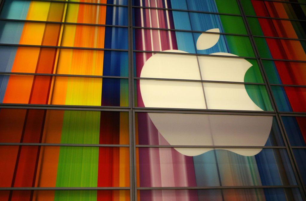 Apple Produkte sind unter anderem für ihren hohen Preis bekannt. Foto: AFP/KIMIHIRO HOSHINO