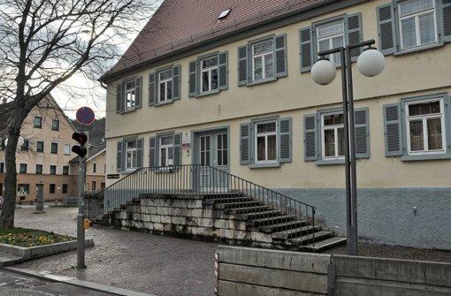 Barrierefreier Zugang zum Bezirksrathaus