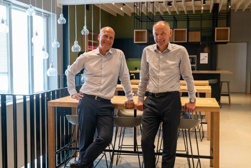 Die Gründer von iteratec GmbH, Klaus Eberhardt und Mark Goerke, fördern mit einem Genossenschaftsmodell die unternehmerische Mitbestimmung.