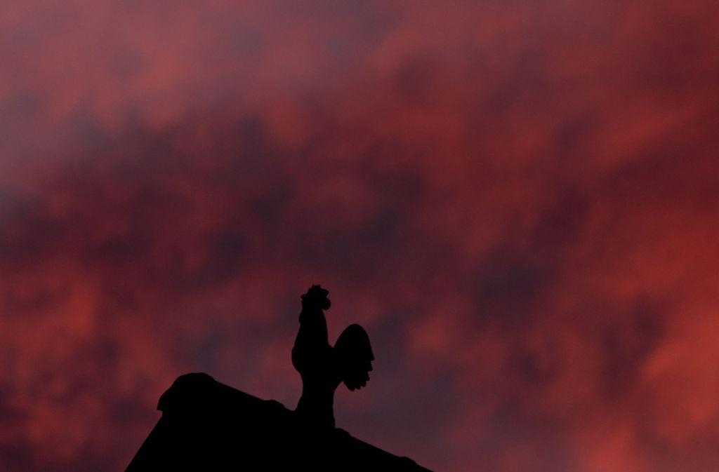 Die Polizei in Mössingen sucht nach einen Dieb, der den Wetterhahn von der Kirchturmspitze entwendet hat (Symbolbild). Foto: dpa