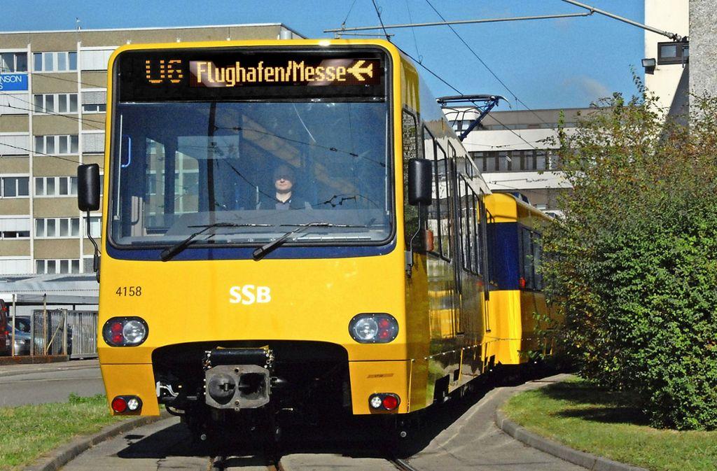 Von 2021 an soll es für die U6 vom Fasanenhof aus bis zum Flughafen gehen. Foto: dpa