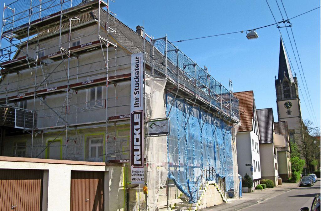 Nach der Renovierung soll das Pfarrhaus aussehen wie im 19. Jahrhundert. Foto: Götz Schultheiss