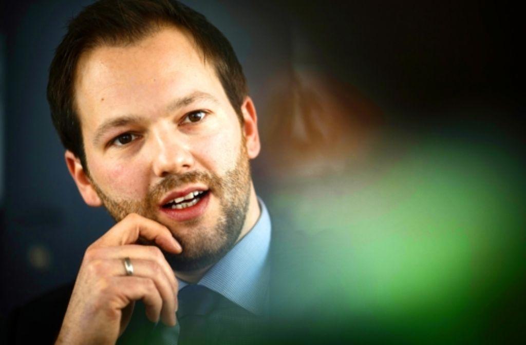 Sven Scholz hat in Hohenheim Wirtschaftswissenschaften studiert. Foto: Gottfried Stoppel