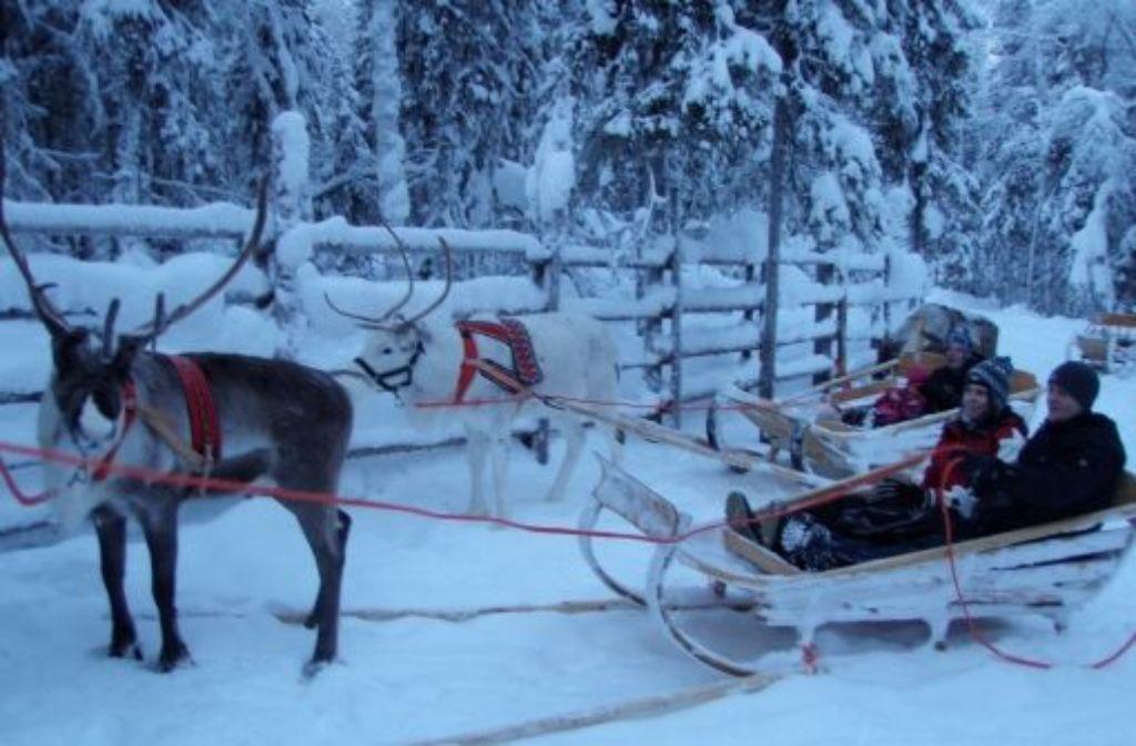 Wer sich auf das schneereiche Abenteuer Lappland einlässt, wird belohnt mit einer atemberaubenden Landschaft. Foto: Ungemach