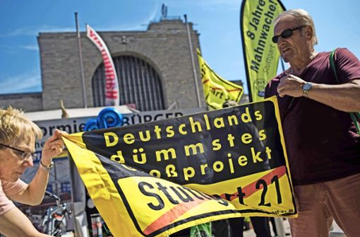 Acht Jahre Protest und immer noch nicht müde