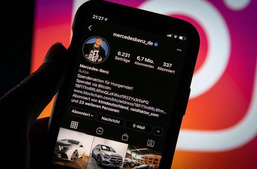 Instagram Mercedes Deutschland