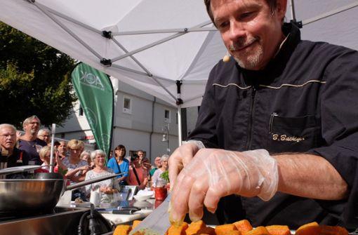 Erste Kochshow lockt Massen auf den Marktplatz
