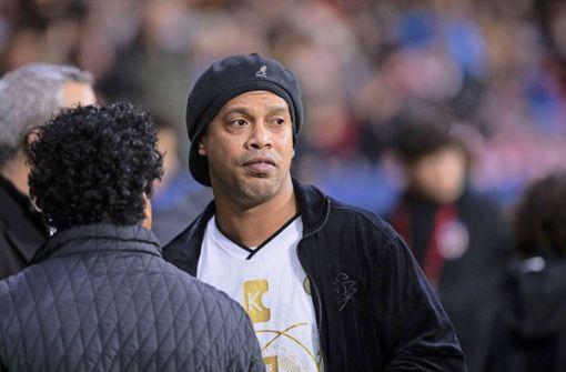 Ronaldinho ist wieder ein freier Mann