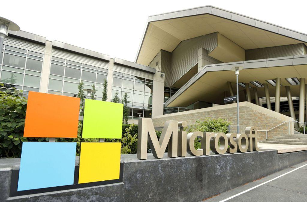 Microsoft hat einen Rekord an der Börse erreicht. Foto: AP