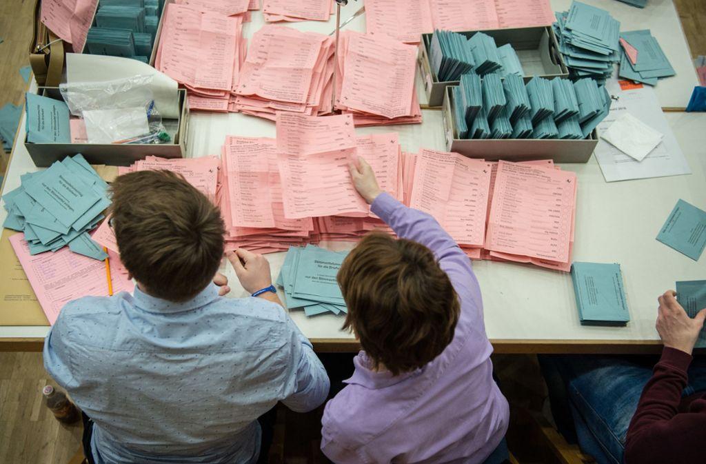 Im Südwesten machen Wähler bei Landtagswahlen nur ein Kreuzchen. Foto: dpa