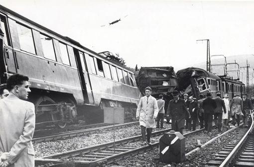 Vor 60 Jahren krachten zwei Vorort-Züge aufeinander