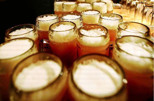 Gegen Wein und Most kam Bier kaum an