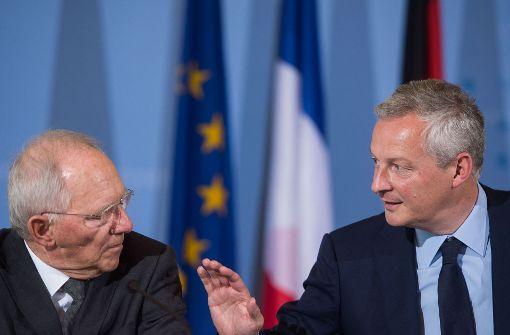 Berlin und Paris gehen bei Steuern voran