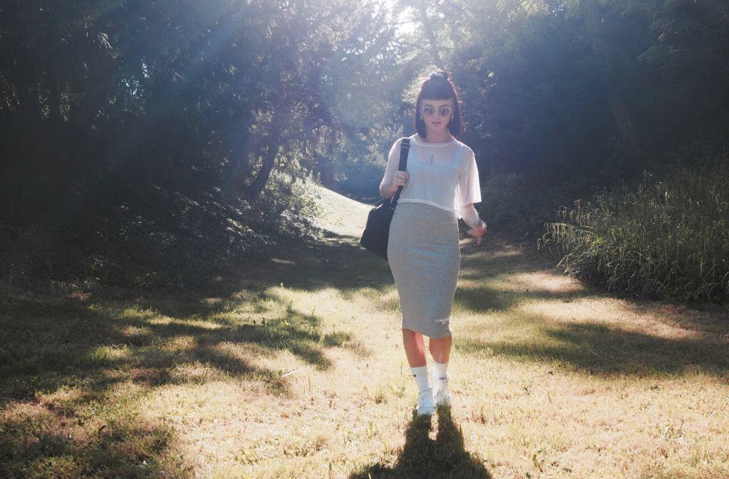 Bereit für den Stylecheck: Mode-Designerin Sophie Eilenberger. Foto: Tanja Simoncev