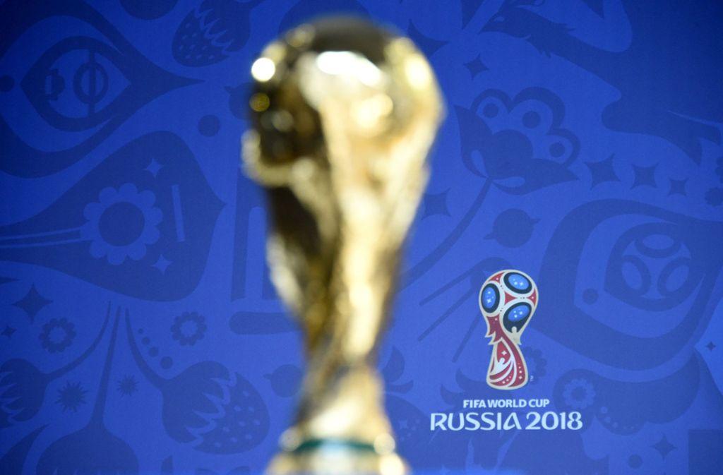 Die Weltmeisterschaft in Russland wird von einigen Konzernen als ideale Werbeplattform angesehen. Foto: dpa